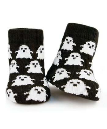 Black & White Ghost Socks