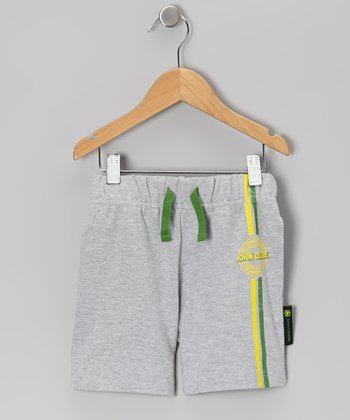 Heather Gray French Terry Shorts - Toddler & Kids