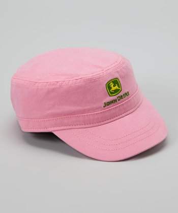 Medium Pink Logo Cap