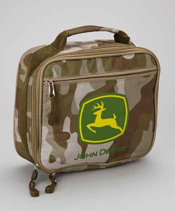 Tan Camouflage Lunch Box