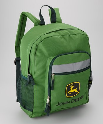 Green Logo Backpack