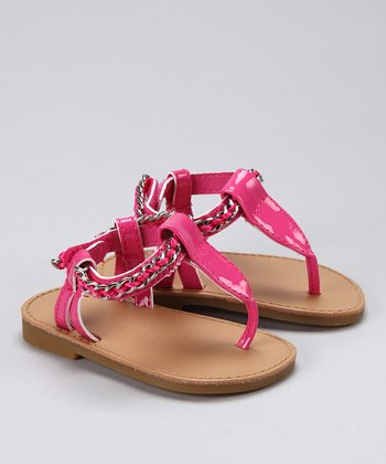 Pink Patent Kimber Sandal - Infant, Toddler & Girls