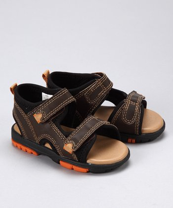Brown Distressed Hayden Sandal