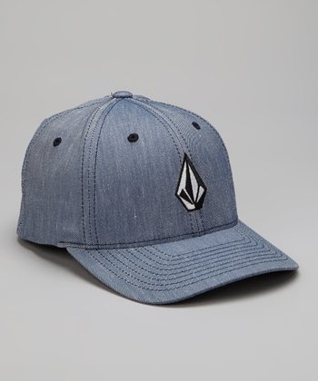 Camper Blue Full Stone Flexfit Baseball Cap