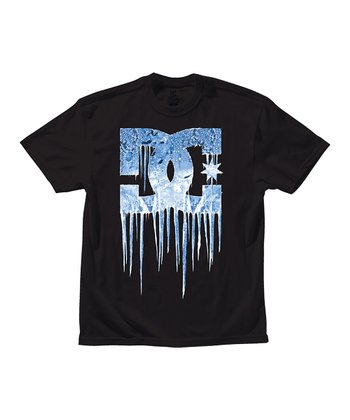 Black DCicle Tee - Boys