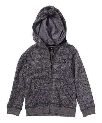 Black Rebel Zip-Up Hoodie - Toddler & Boys