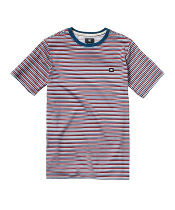 Red Stripe Scripes Tee - Toddler & Boys