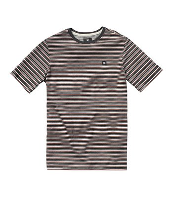 White Stripe Scripes Tee - Toddler & Boys
