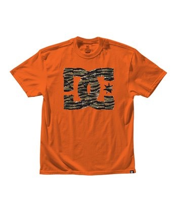 Orange Tigerstar Tee - Boys