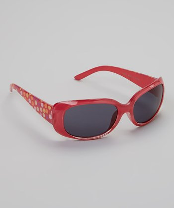 Pink Polka Dot Sunglasses