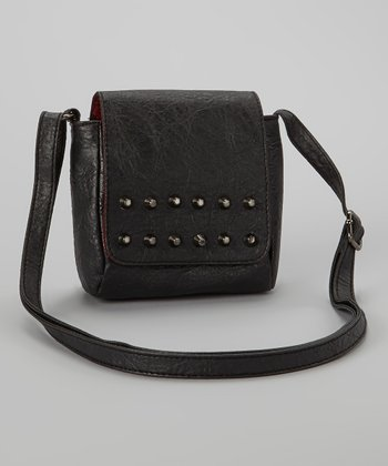 Black Stud Crossbody Bag