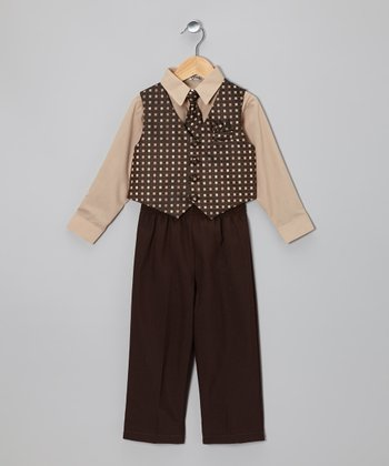 Brown & Brown	Vest Set - Toddler & Boys