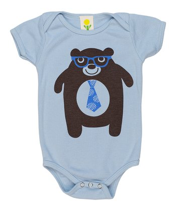 Blue Bear Organic Bodysuit - Infant