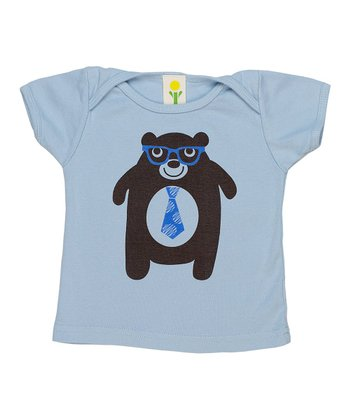 Blue Bear Organic Lap Neck Tee - Infant