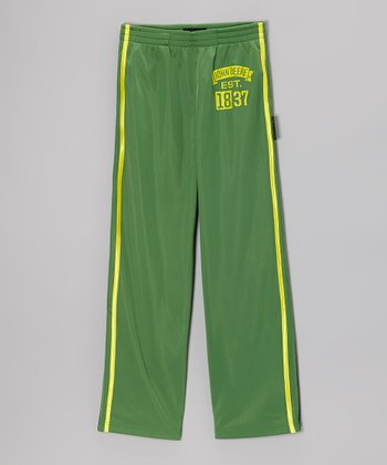 Green '1837' Pants - Boys