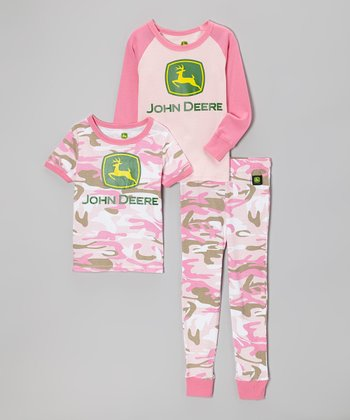 Pink Camo Pajama Set - Infant, Toddler & Girls