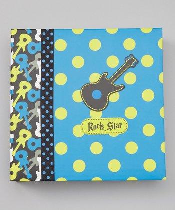 Baby Essentials Blue 'Rock Star' Photo Album