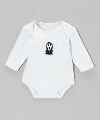 White Ghost Bodysuit - Infant