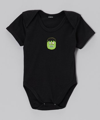 Black Frankenstein Bodysuit - Infant