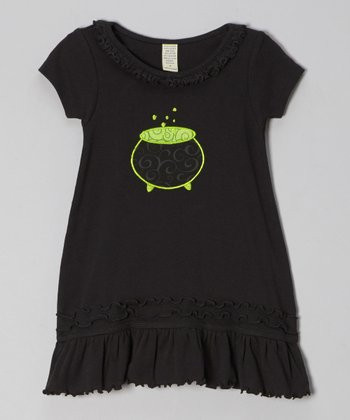 Black Calderon Dress - Infant, Toddler & Girls