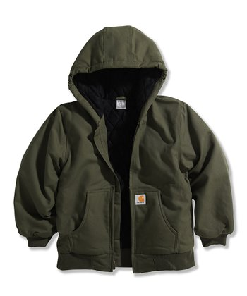 Green Duck Jacket - Boys