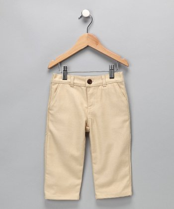 Khaki Dress Pants - Infant, Toddler & Boys