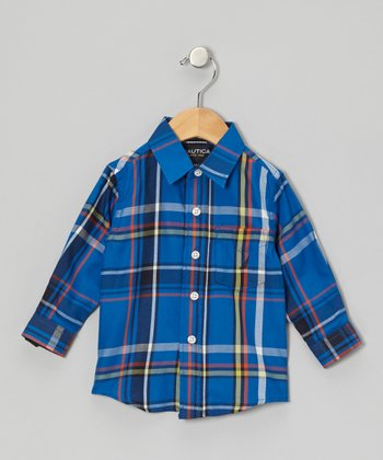 Blue Jean Woven Button-Up - Infant
