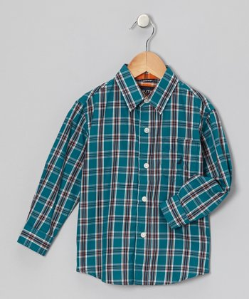 Spruce Woven Button-Up - Infant, Toddler & Boys