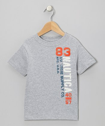 Light Gray Heather  Tee - Toddler