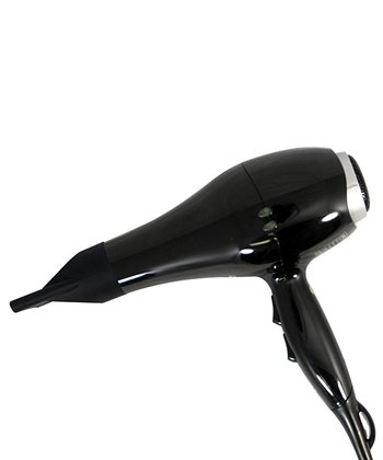 Black Ionic Pro Hair Dryer