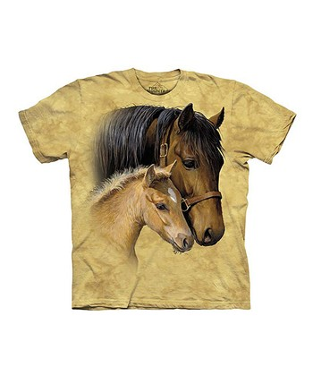 Tan Gentle Horses Tee - Toddler, Girls, Women & Plus
