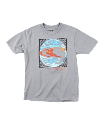 Heather Gray Waves United Tee