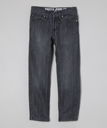 Dark Blue Slim-Fit Jeans - Boys