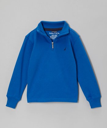 Bright Blue Pullover - Boys