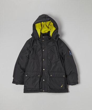 Black Snorkle Jacket - Toddler