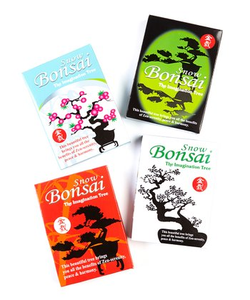 Bonsai Crystal Growing Kit Set