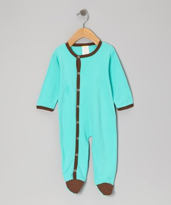 Mint & Chocolate Footie - Infant