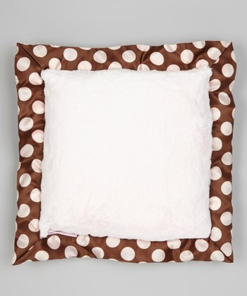 Pink Posh Dots Pillow