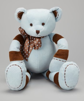 Blue Ziggy Bear Plush Toy
