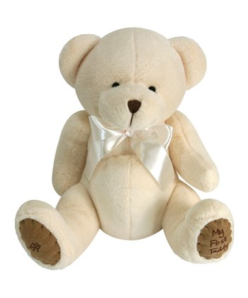Cream Bear Plush Toy