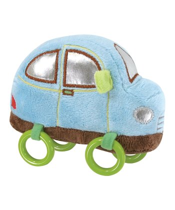 Blue Ring Car Plush Toy