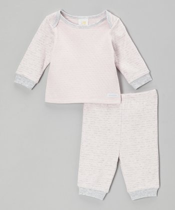 Pink Raglan Top & Pants - Infant