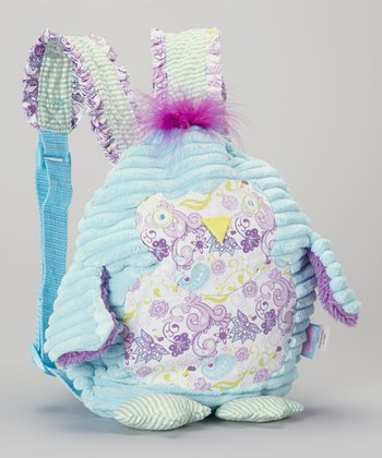 Blue Flower Chick Backpack