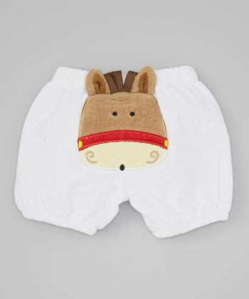 White Horse Shorts - Infant