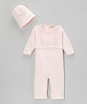 Pink Abby Playsuit & Beanie - Infant