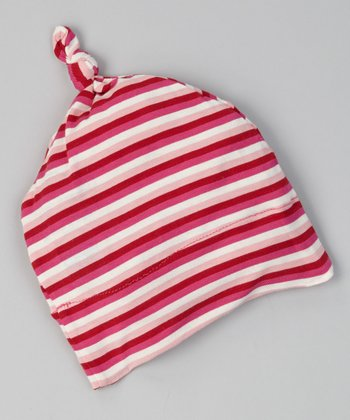 Candy Stripe Single-Knot Beanie