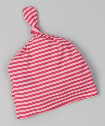 Taffy Stripe Single-Knot Beanie