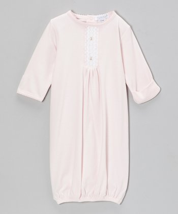 Pink Grace Smocked Gown - Infant