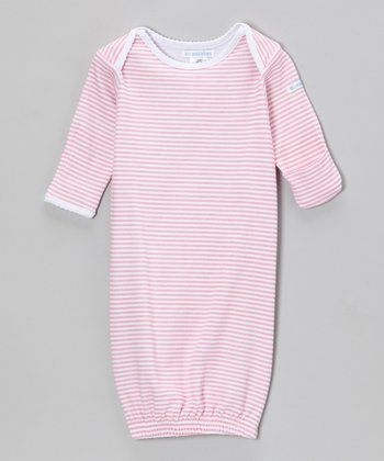 Pink Sweet Stripe Gown - Infant