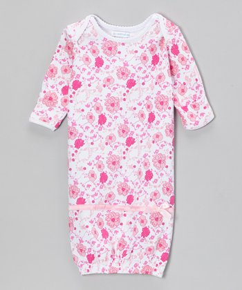 Pink Meadow Delight Gown - Infant